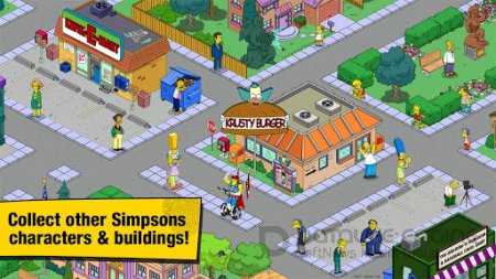 ВЗЛОМАННАЯ THE SIMPSONS: TAPPED OUT ВЕРСИЯ 4.2.4 ANDROID (ОБНОВЛЕНИЕ)