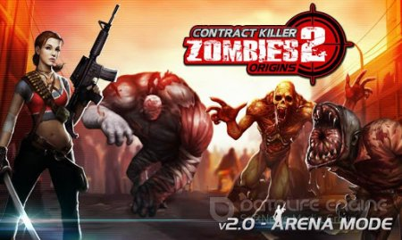 Взломанный CONTRACT KILLER ZOMBIES 2 для Андроид