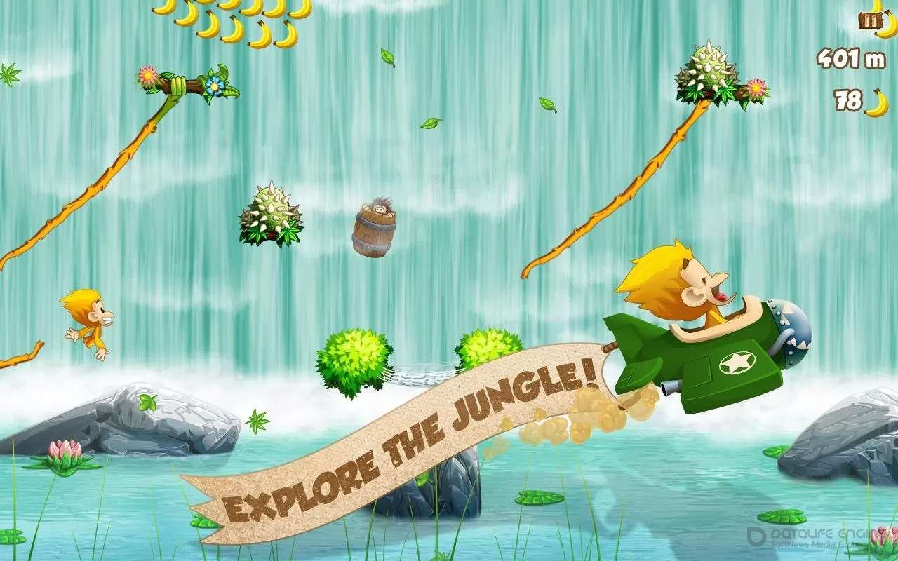Скачать Benji Bananas для Андроид с Бесконечными Деньгами