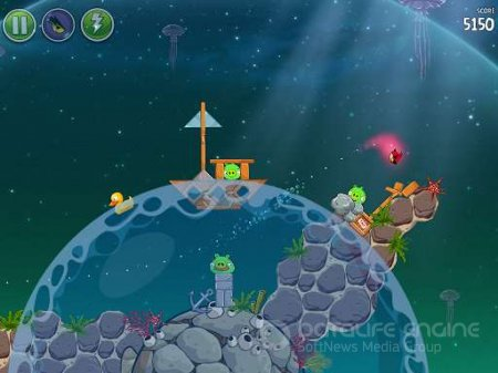 Взломанный Angry Birds Space для Андроид