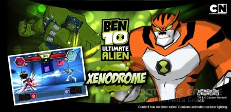 Взломанный BEN 10 Ultimate Alien: Xenodrome для Андроид