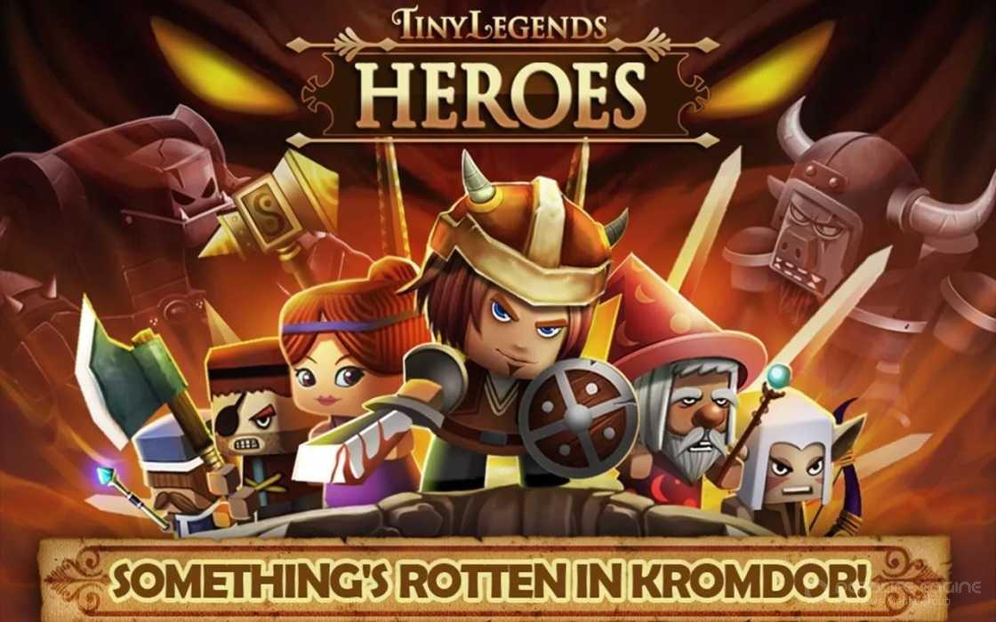 Tiny legends heroes мод скачать