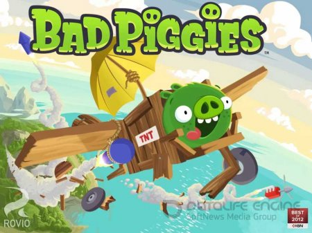Взломанный Bad Piggies для Андроид