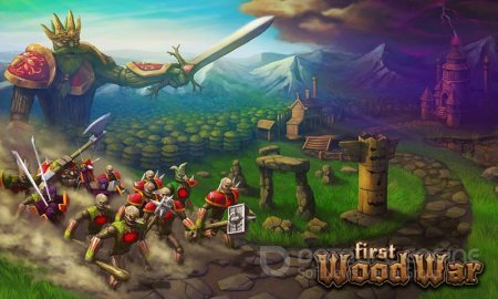 Взломанный First Wood War для Андроид