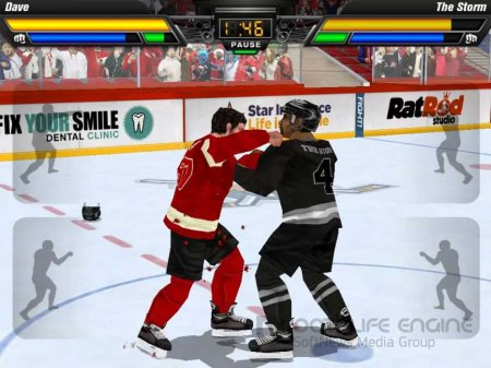Взломанный Hockey Fight Pro для Андроид