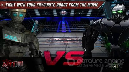 Взломанный Real Steel HD для Андроид