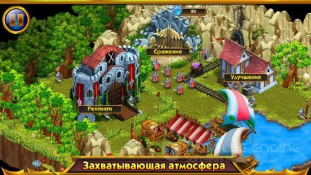 Взломанный Tower Wars: Mountain King для Андроид