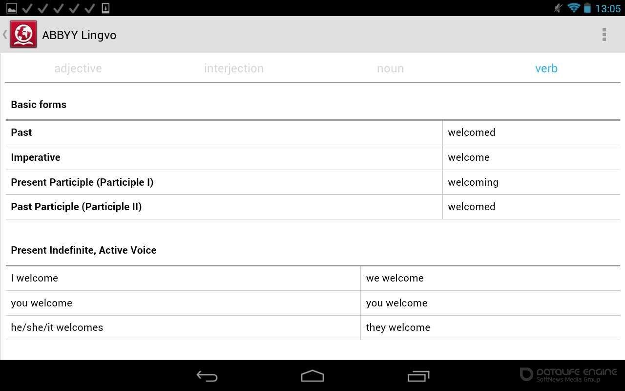 Словари Lingvo Android Скачать