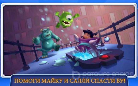 Взломанный Monsters, Inc. Run для Андроид