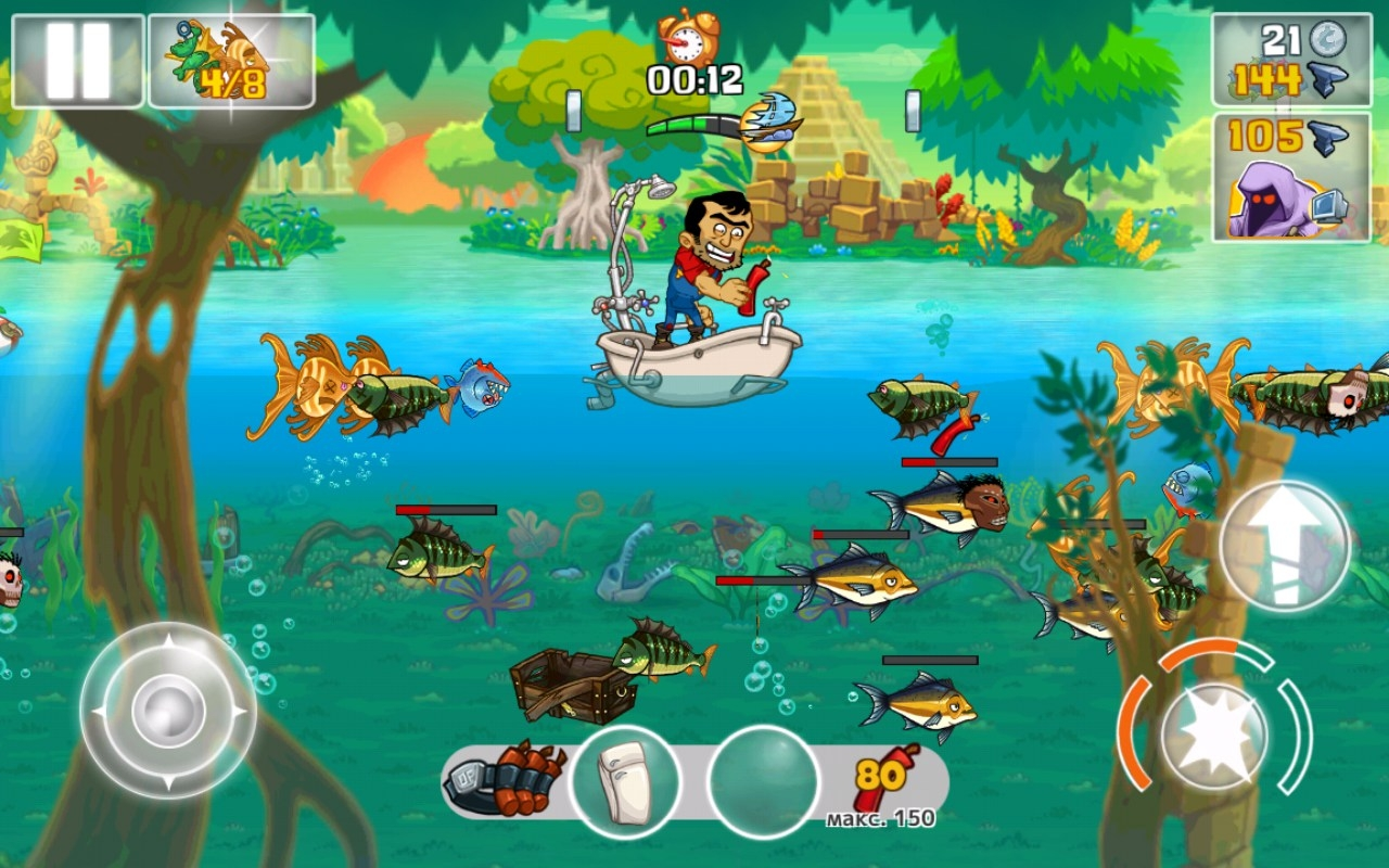 Dynamite fishing world games for Fishing world game