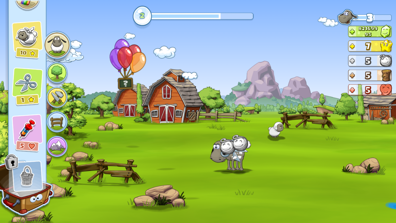 clouds sheep игра