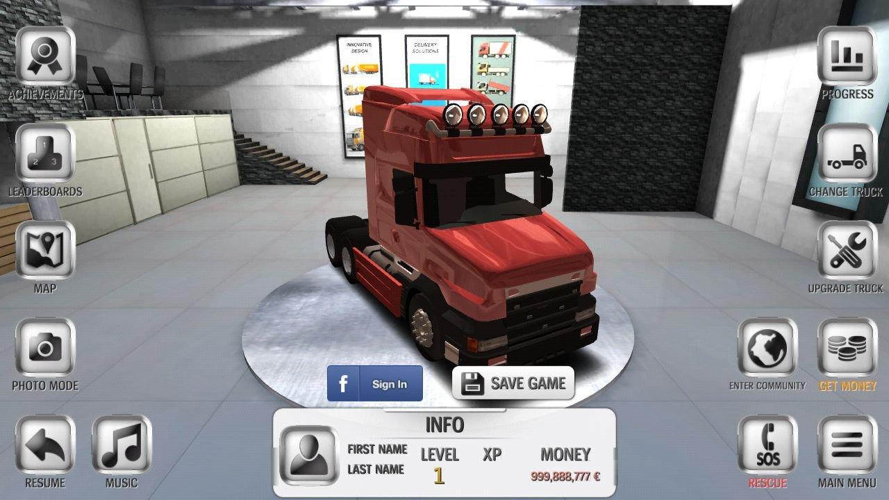 Скачать взломанный euro truck driver (мод: много денег) на андроид.