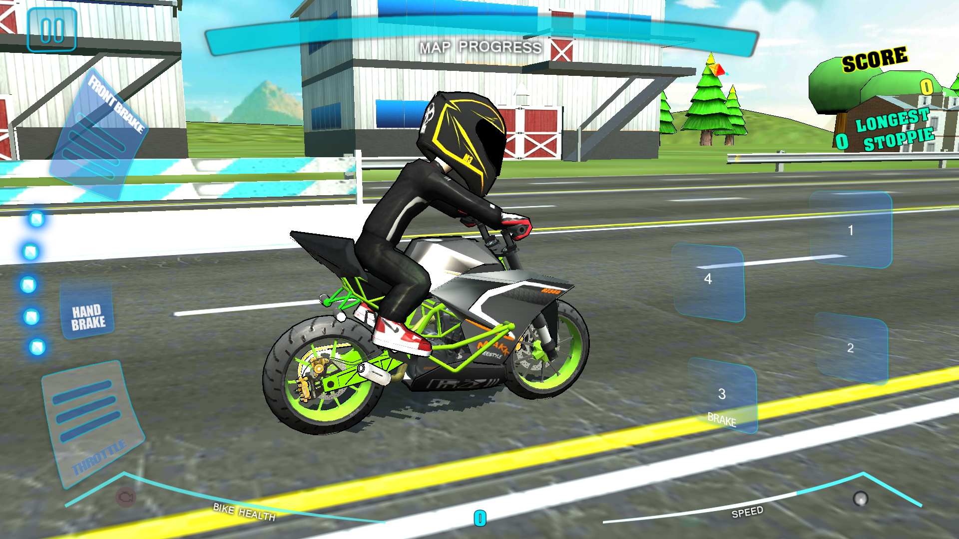 игра гонка на мотоциклах по городу